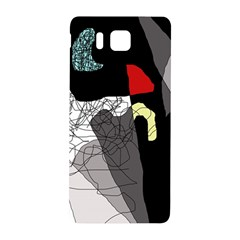 Decorative abstraction Samsung Galaxy Alpha Hardshell Back Case