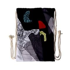 Decorative abstraction Drawstring Bag (Small)