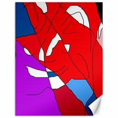 Colorful abstraction Canvas 12  x 16