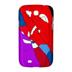 Colorful abstraction Samsung Galaxy Grand GT-I9128 Hardshell Case