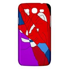Colorful abstraction Samsung Galaxy Mega 5.8 I9152 Hardshell Case