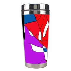 Colorful abstraction Stainless Steel Travel Tumblers