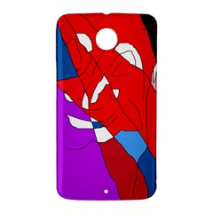 Colorful abstraction Nexus 6 Case (White)