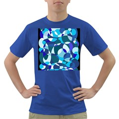Blue abstraction Dark T-Shirt