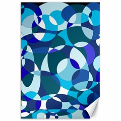 Blue abstraction Canvas 20  x 30