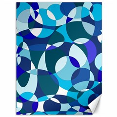 Blue abstraction Canvas 36  x 48