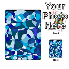 Blue abstraction Multi-purpose Cards (Rectangle)