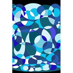 Blue abstraction 5.5  x 8.5  Notebooks