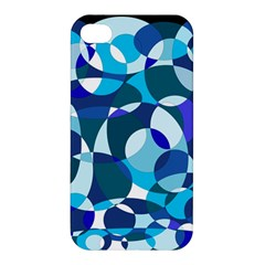 Blue abstraction Apple iPhone 4/4S Hardshell Case