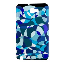 Blue abstraction Samsung Galaxy Note 1 Hardshell Case