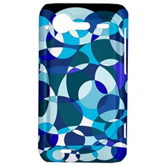 Blue abstraction HTC Incredible S Hardshell Case