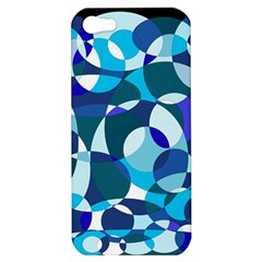 Blue abstraction Apple iPhone 5 Hardshell Case