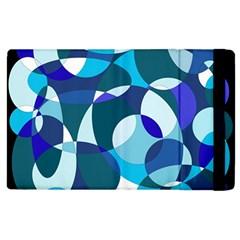 Blue abstraction Apple iPad 2 Flip Case