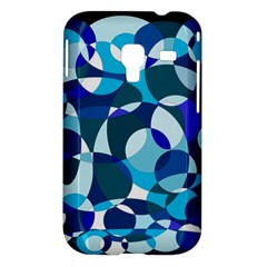 Blue abstraction Samsung Galaxy Ace Plus S7500 Hardshell Case