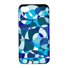 Blue abstraction Apple iPhone 4/4S Hardshell Case with Stand