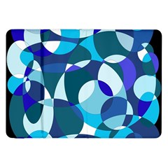 Blue abstraction Samsung Galaxy Tab 8.9  P7300 Flip Case