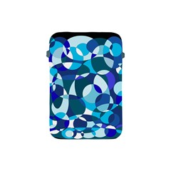 Blue abstraction Apple iPad Mini Protective Soft Cases