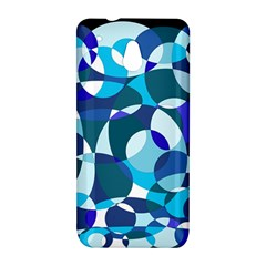 Blue abstraction HTC One Mini (601e) M4 Hardshell Case