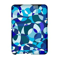 Blue abstraction Amazon Kindle Fire (2012) Hardshell Case