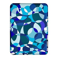 Blue abstraction Samsung Galaxy Tab 4 (10.1 ) Hardshell Case
