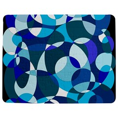 Blue abstraction Jigsaw Puzzle Photo Stand (Rectangular)
