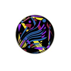 Optimistic abstraction Hat Clip Ball Marker