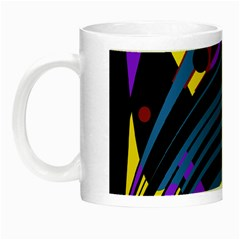 Optimistic abstraction Night Luminous Mugs