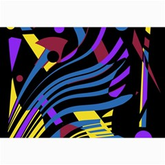 Optimistic abstraction Collage Prints
