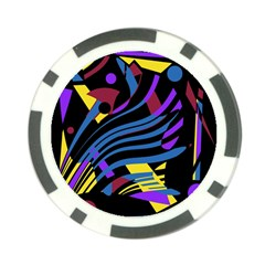 Optimistic abstraction Poker Chip Card Guards