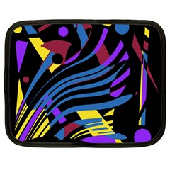Optimistic abstraction Netbook Case (Large)
