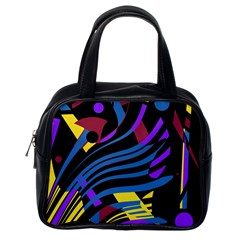 Optimistic abstraction Classic Handbags (One Side)