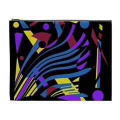 Optimistic abstraction Cosmetic Bag (XL)