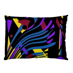 Optimistic abstraction Pillow Case (Two Sides)