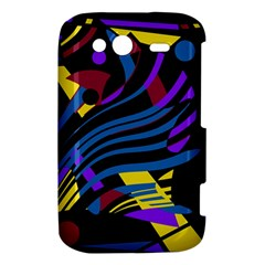 Optimistic abstraction HTC Wildfire S A510e Hardshell Case