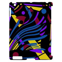 Optimistic abstraction Apple iPad 2 Hardshell Case (Compatible with Smart Cover)