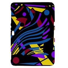 Optimistic abstraction Samsung Galaxy Tab 8.9  P7300 Hardshell Case