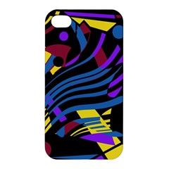 Optimistic abstraction Apple iPhone 4/4S Premium Hardshell Case