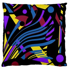 Optimistic abstraction Large Cushion Case (Two Sides)