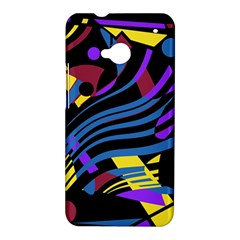 Optimistic abstraction HTC One M7 Hardshell Case