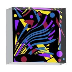 Optimistic abstraction 5  x 5  Acrylic Photo Blocks