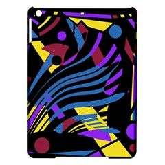 Optimistic abstraction iPad Air Hardshell Cases