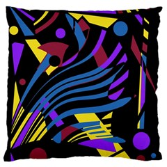 Optimistic abstraction Standard Flano Cushion Case (Two Sides)