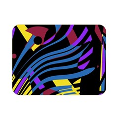 Optimistic abstraction Double Sided Flano Blanket (Mini)