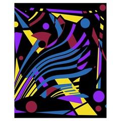 Optimistic abstraction Drawstring Bag (Small)