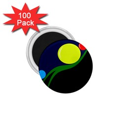 Falling  ball 1.75  Magnets (100 pack)