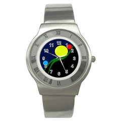 Falling  ball Stainless Steel Watch