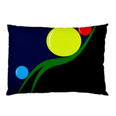 Falling  ball Pillow Case