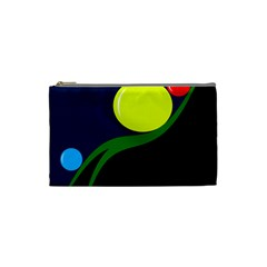 Falling  ball Cosmetic Bag (Small)