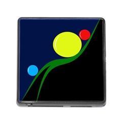 Falling  ball Memory Card Reader (Square)