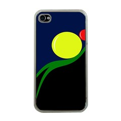 Falling  ball Apple iPhone 4 Case (Clear)